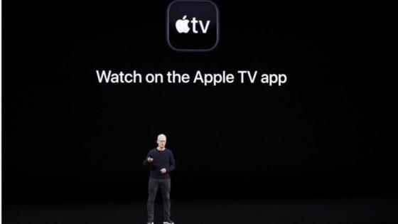 Apple Event Vortrag zu Apple TV+