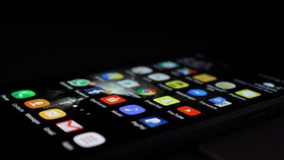 Ein Smartphone mit Android
