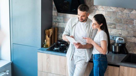 Smarte Küche mit Tablet steuern