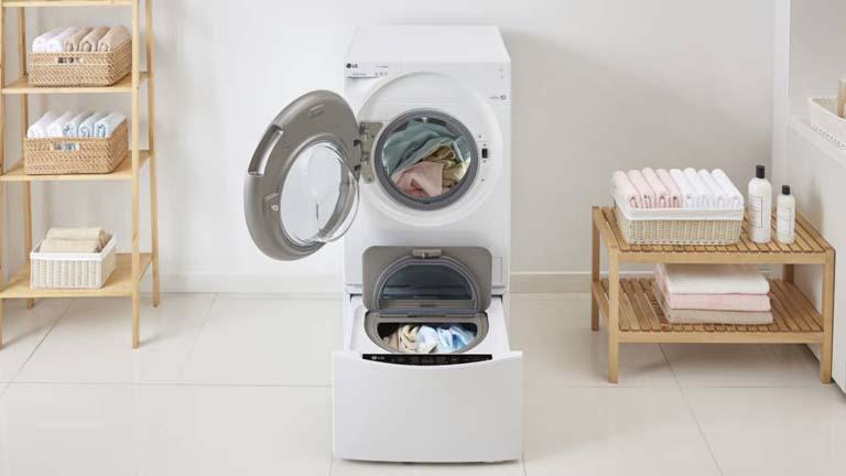 LG TWINWash: Diese Funktionen hat die doppelte Waschmaschine