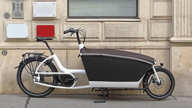 Lastenrad als Zweirad bietet mehr Wendigkeit