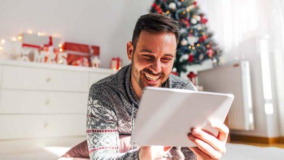 Smarte Lichterkette zu Weihnachten