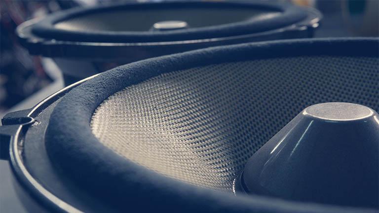 Sicke an Lautsprecherboxen