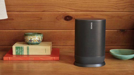 Sonos Move: Bluetooth-Box für drinnen und unterwegs