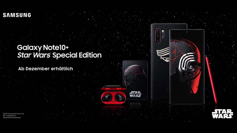 Smartphone für Star-Wars-Fans: Samsung Galaxy Note10+