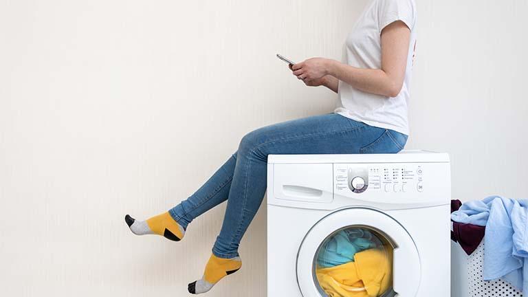 Smarte Waschmaschine: Wascherlebnis mit App und WLAN
