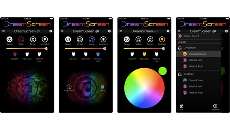 DreamScreen App im Aple App Store