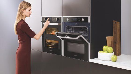 Küche mit Dual-Cook-Flex-Backofen von Samsung