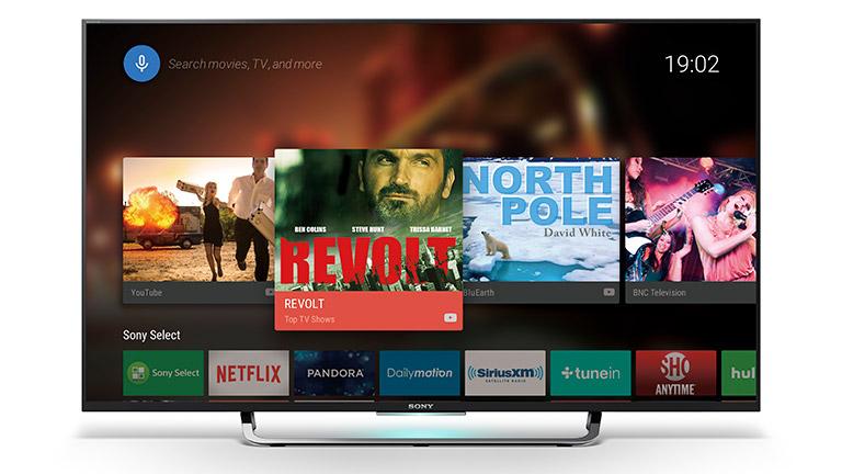 Android TV auf Sony-Fernseher