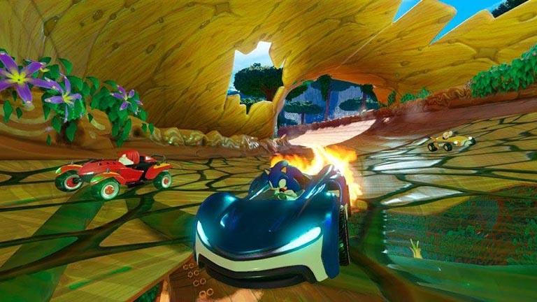Team Sonic Racing zählt zu den rasantesten PS4-Spielen für zwei