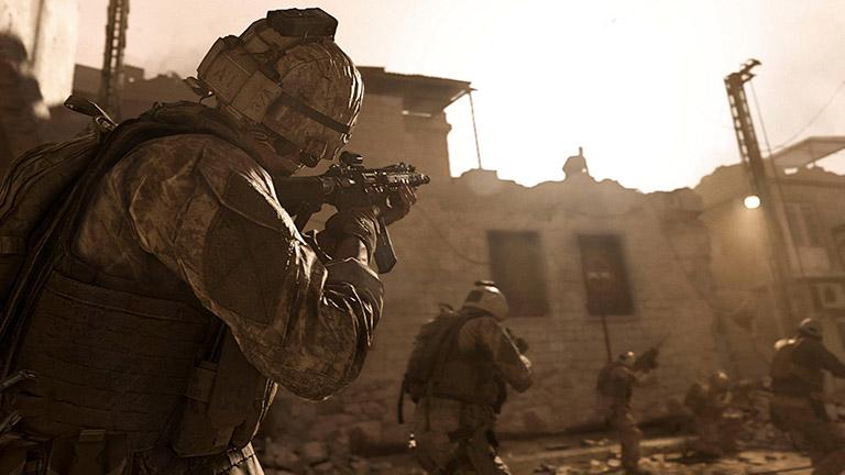 Online-Multiplayer für mehr als zwei PS4-Spieler: Call of Duty: Modern Warfare