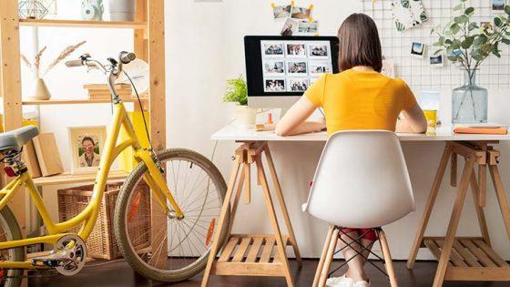 Arbeiten von zu Hause: Im Homeoffice produktiv bleiben