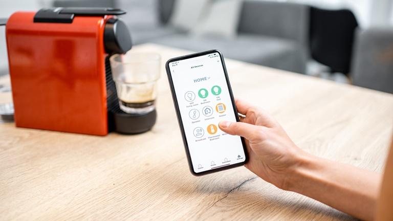Smarte Kaffeemaschine per App steuern