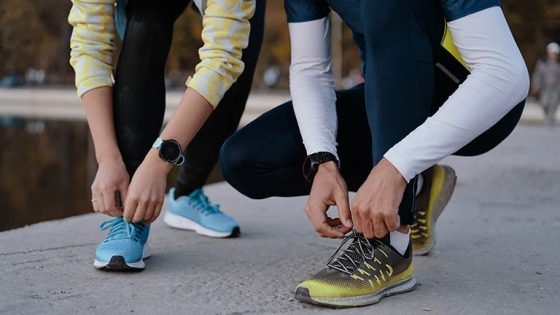 Smarte Schuhe, Smarte Sneaker, Schuhe zubinden, Laufschuhe, Wearables