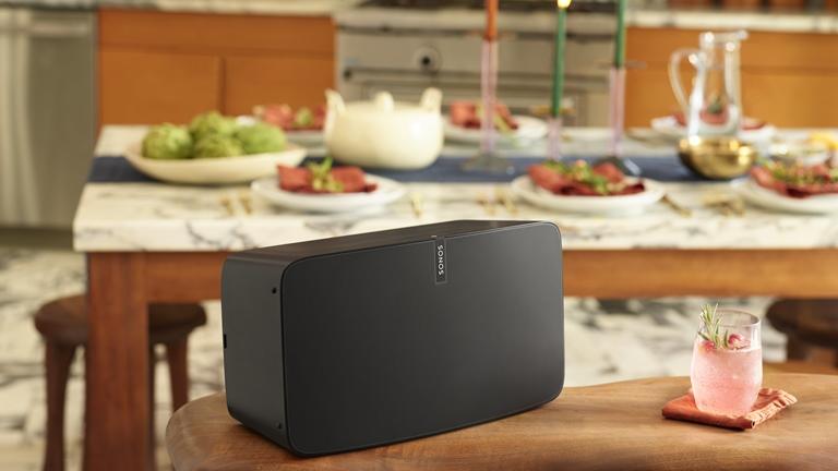 Sonos Play 5 in einer Küche