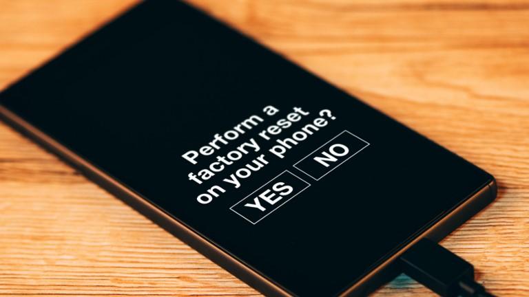 Akku: Reset beim Smartphone