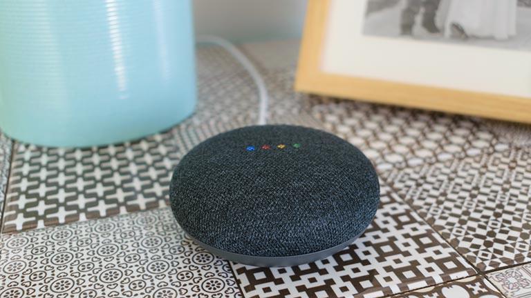 Google Home Mini neu starten