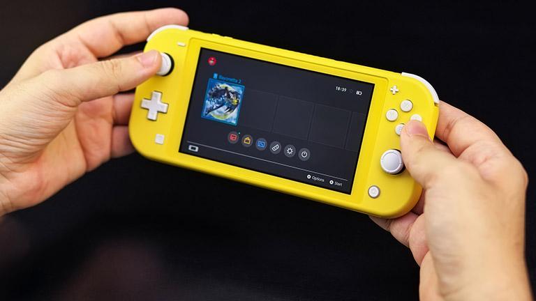 Nintendo Switch Lite: Konsole reinigen