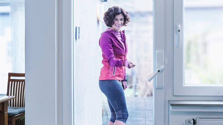 smartes Türschloss für Terrasse