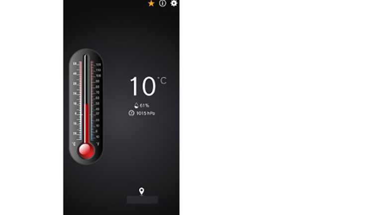 Thermometer-Apps fürs Smartphone