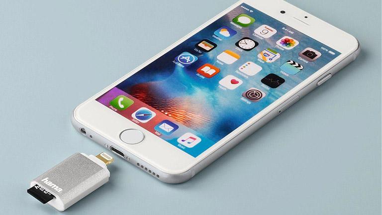 iPhone-Zubehör Kartenleser