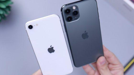 iPhone SE 2020 und iPhone 11 Pro
