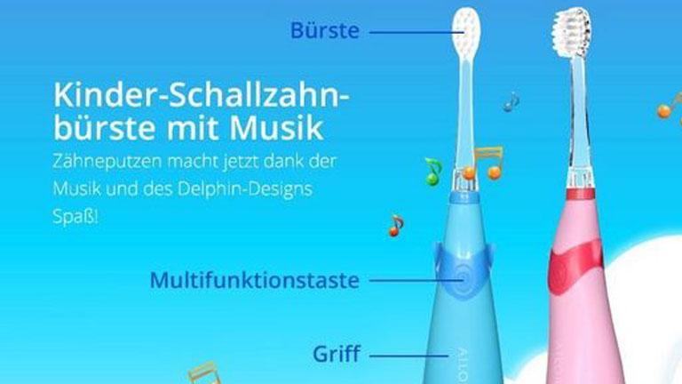 Elektrische Zahnbürste für Kinder: Verschiedene Timer-Arten helfen dabei, die richtige Putzzeit einzuhalten
