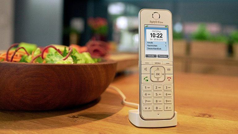 Telefon verbunden mit Fritzbox