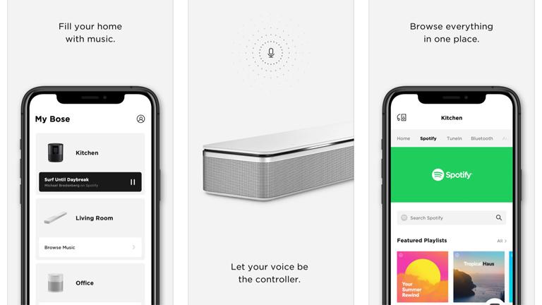Bose Home Speaker 500 einrichten: Die Bose Music App lässt dich deine Musik zentral steuern