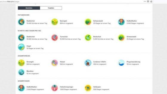 Fitbit-Abzeichen: Die virtuellen Badgeserklärt