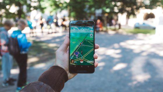 Game auf dem Smartphone