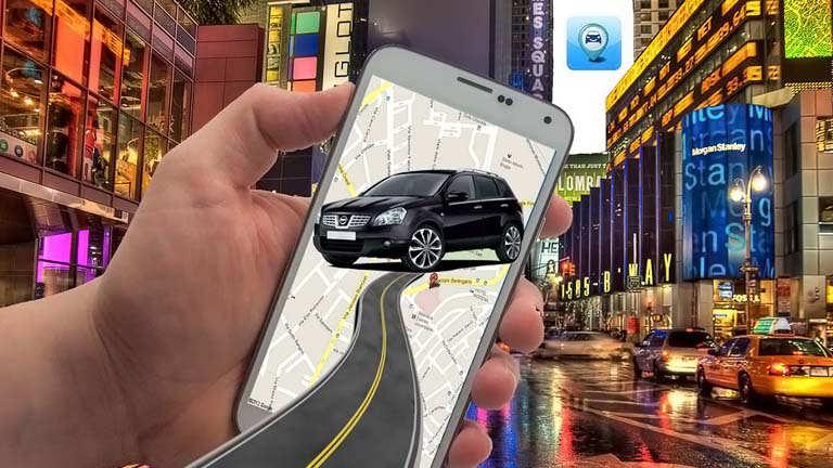 Auto per App finden