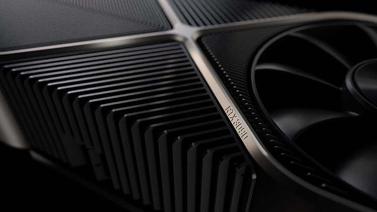 Nahaufnahme der neuen Nvidia RTX 3090