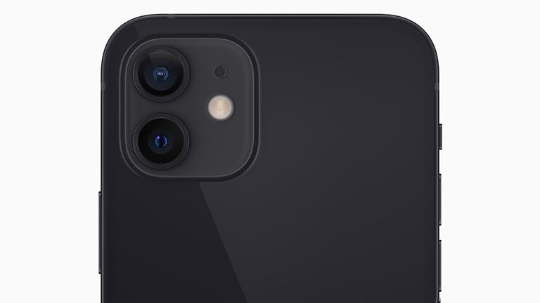 Produktfoto der Hauptkamera des iPhone 12.