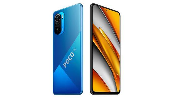 Produktbild des Poco F3 in Blau