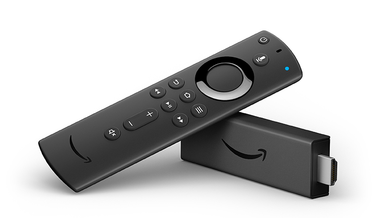Ein Produktbild von einem Amazon Fire TV 4K.