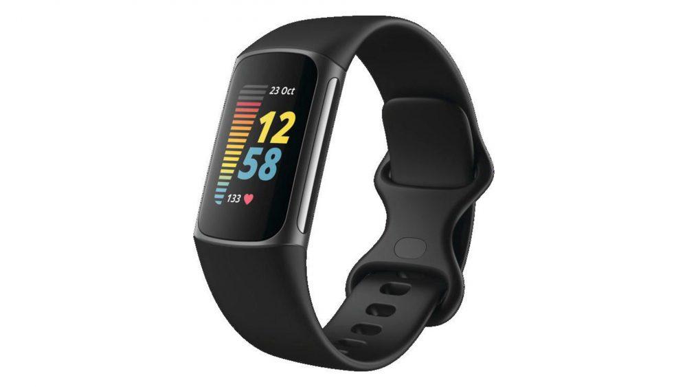 Produktbild eines Fitbit Charge 5 in Schwarz.